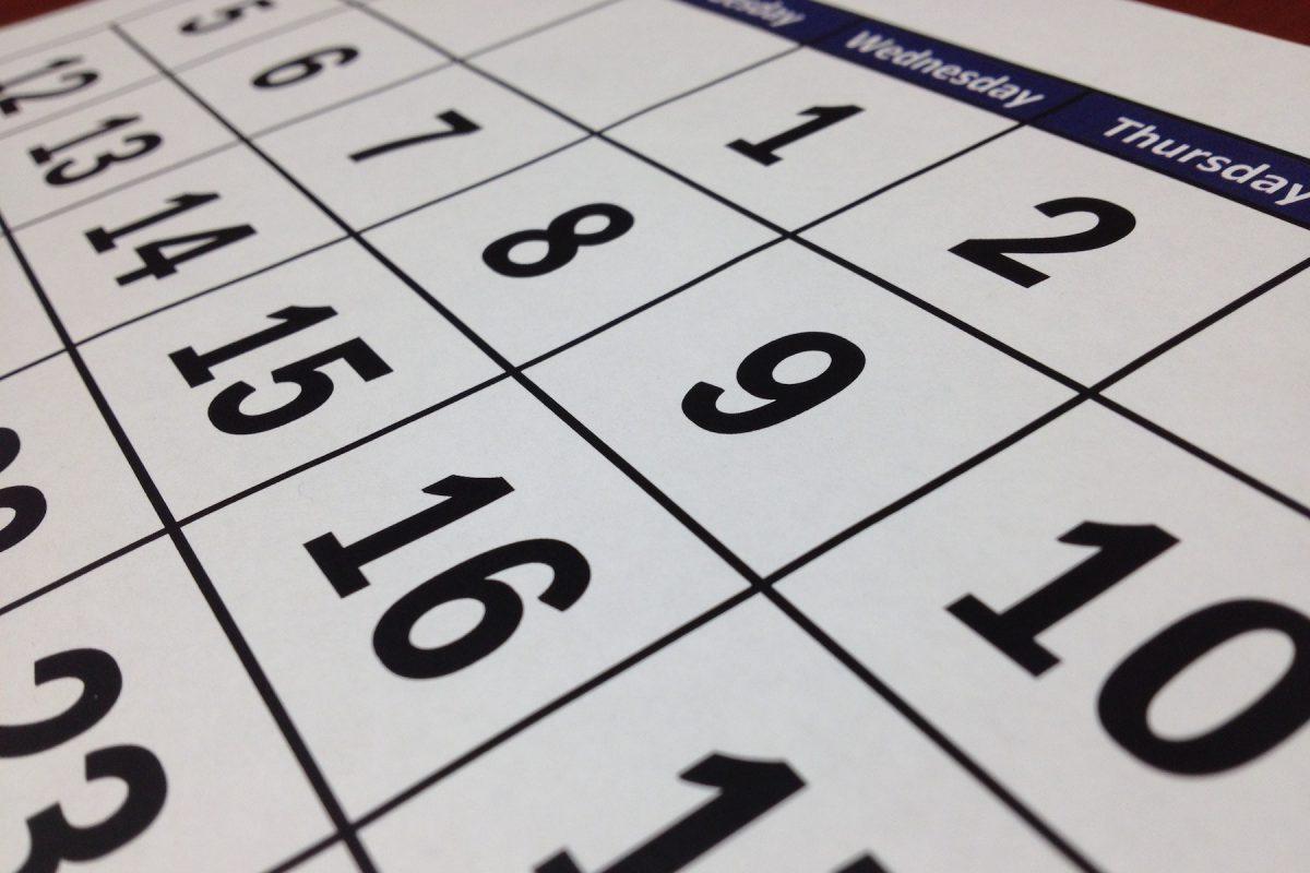 vervaldata kalender