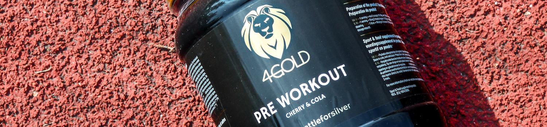4Gold pre workout