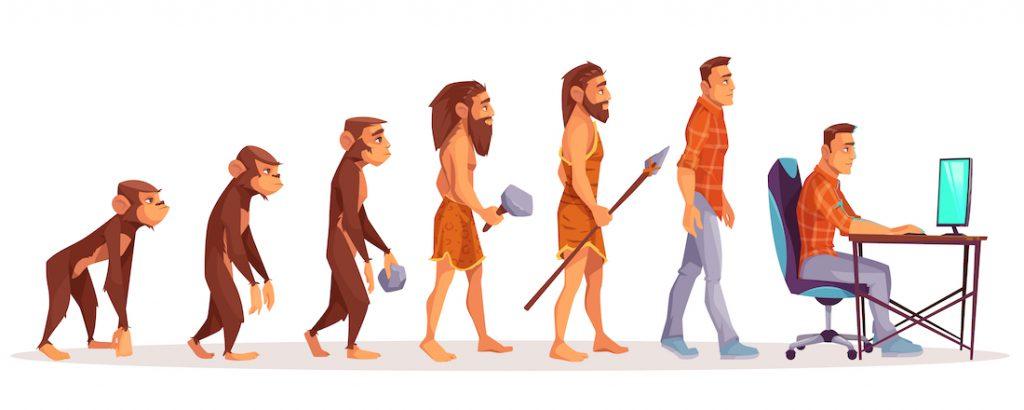 Evolutie digitaal