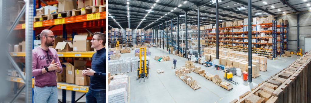 BME distribution center